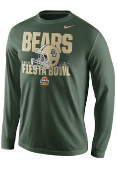 2014 #Baylor Fiesta Bowl Long Sleeve T-Shirt ($28 from Baylor Bookstore) #BaylorFiesta #SicEm