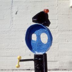 femme et oiseau | artist:  joan miró