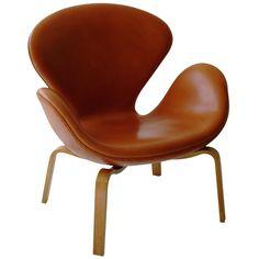 Swan chair, model 4325 by Arne Jacobsen for Fritz Hansen