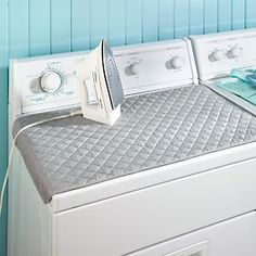 Quilted Ironing Mat - Over-Dryer Fabric Ironing Board | Solutions