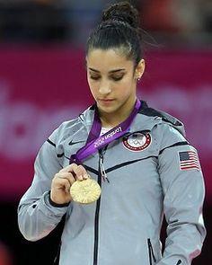 Aly Raisman. Gold - Women's Floor Exercise Final.