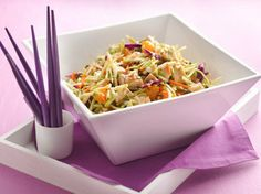 the chew | Recipe  | Hungry Girl's Scoopable Chinese Chicken Salad