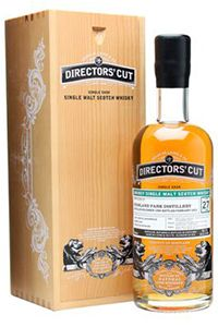 Mark Gillespie of Whiskycast's Tasting Notes for Director's Cut Highland Park 27