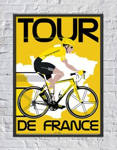Tour De France on Etsy, $22.83 AUD