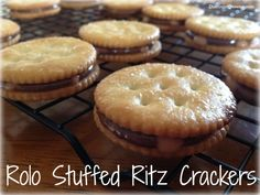 52 Weeks of Pinterest: Week 13 – Rolo Stuffed Ritz Crackers!