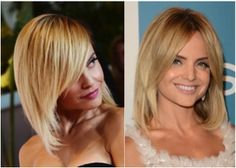 Gorgeous Shoulder-Length Hairstyles: Actress Mena Suvari's Cool Shoulder-length Cut