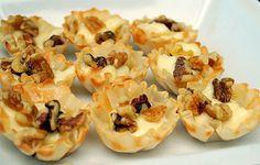 Honey Walnut Brie Tartettes by ItsJoelen, via Flickr