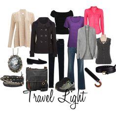 """Travel Light"" on Polyvore"