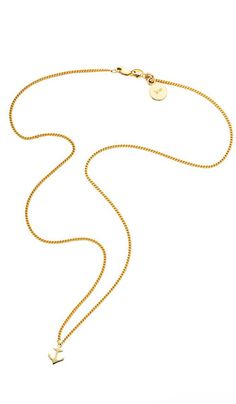 Mini Anchor Pendant - Gold