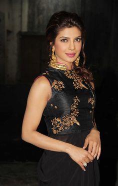 @PriyankaChopra's Brilliance & Beauty's complemented by @JaipurGems' elegant #ChandBali #Earrings she wears http://www.JaipurGems.com/  >>  http://www.pinterest.com/JaipurGems/