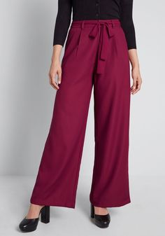 The Savannah Wide-Leg Pants, #ModCloth