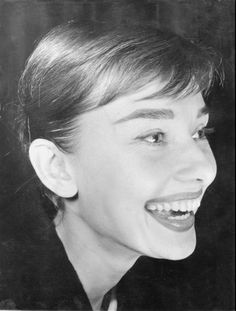 Audrey Hepburn-why can't every woman do her brows like this? perfection!