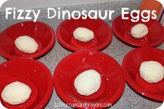Make Fizzy Dinosaur Egg Fossils