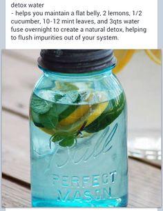Water detox...
