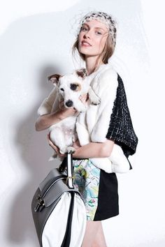 Antonio Marras, pre-spring/summer 2014 #caninecouture #dogs #fashion
