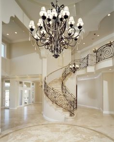 I love the stair case. :)