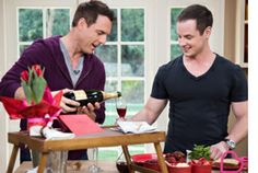 #HomeandFamilyTV Make a #romantic and heart healthy breakfast in bed for your sweetie! #DeanSheremet shows you how!
