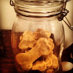 DIY doggy biscuits  **wheat and corn free