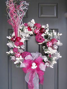 pink wreath!