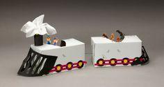 Tissue-Box Train craft