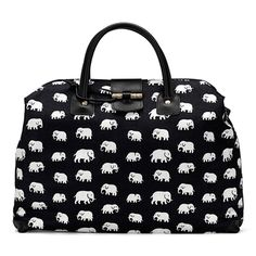 Elephants! On a bag!  From Sweden!