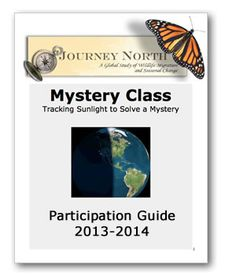 Journey North Mystery Class - great yearly project that includes science, geography, math, and more.
