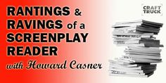 Howard Casner, screenplay reader for contests, on what's working and what not! http://www.motionvfx.com/B3566  #film #filmmaking #filmmaker