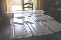 Painted cabinets tutorial