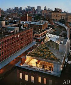 Diane von Furstenberg's Meatpacking District penthouse