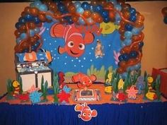 Finding nemo birthday party ideas supplies cakes dvd  little nemo cake themes