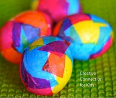 15 Fun Easter Egg DIY Craft Ideas - fun alternatives to traditional egg dyeing!  #plaidcrafts #modpodge