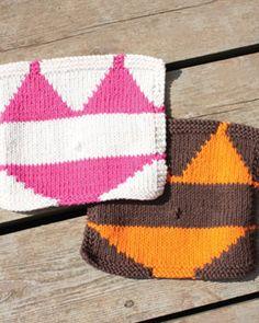 Free Knitting Pattern - Dishcloths & Washcloths : Bikini Dishcloth