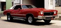 1975 Monte Carlo This was the best car I ever owned.