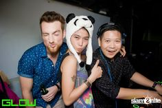 Panda's Party at Glow Nightclub