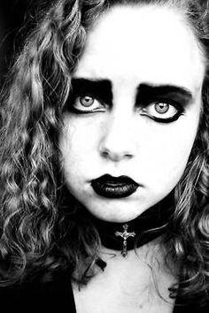 Blond #Goth girl