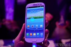 Samsung Galaxy S III first hands-on video and pictures!