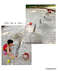Sand play from Growing HeARTS