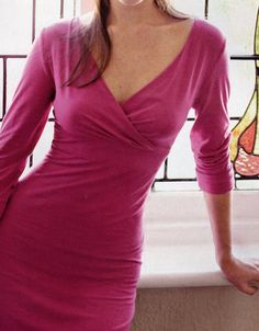Knit dress pattern fitted to you