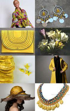 Freesia Yellow Spring 2014 fashion --Pinned with TreasuryPin.com