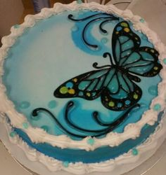 Dairy Queen Cake butterfly