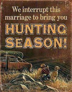 Hunting season In Wisconsin