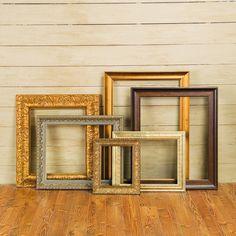 Open Wood Frames