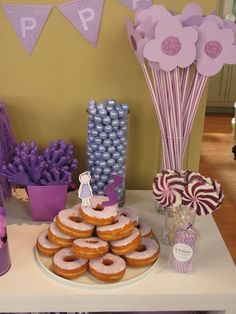 purple party ideas... crafts-and-party-ideas