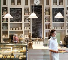 Such a pretty bakery.