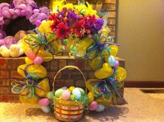 Another Easter wreath I made.