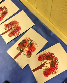 From The Hive: a few leaf - fall preschool ideas.. FALL TREE ACTIVITY