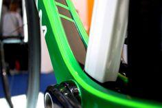 Caterham Duo Cali, Eurobike 2014, bottom bracket, pic: Timothy John, ©Factory Media