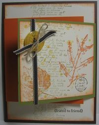 October 08, 2010  French Foliage Flap Card