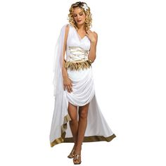 Venus Goddess Adult Halloween Costume at #Walmart. Available In-Store.