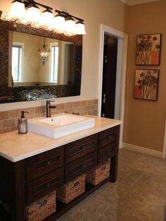 Brick Inspiration  - Bathroom Backsplash Beauties on HGTV